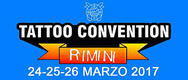 Rimini Tattoo Convention 2017 - DAL 24 AL 26/03/2017