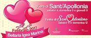 Fiera di Sant'Apollonia e San Valentino 2017 a Bellaria Igea Marina - DAL 4 AL 12/02/2017